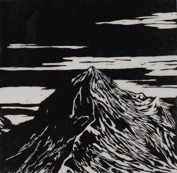 """""""étude montagne III"""", 2014"""
