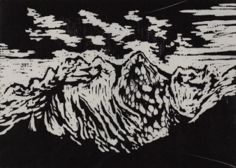 """""""étude montagne IV"""", 2014"""
