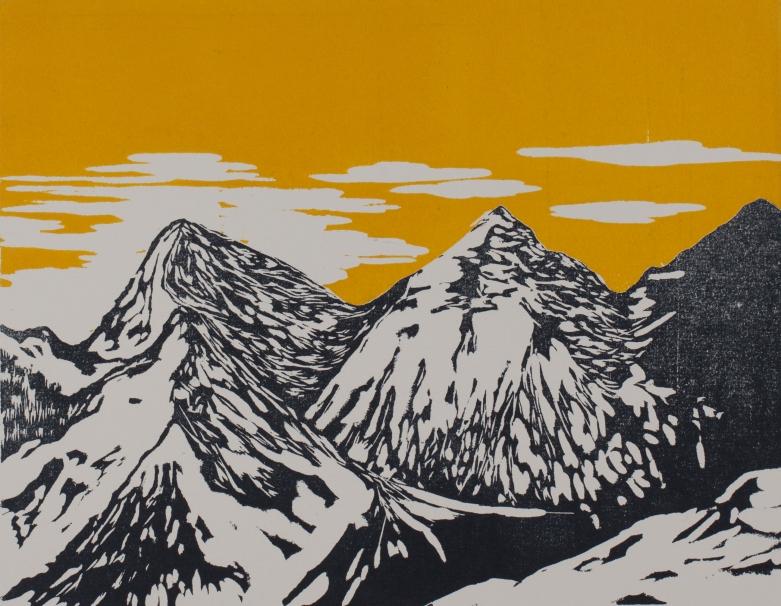 """""""Montagne jaune"""", 2014"""