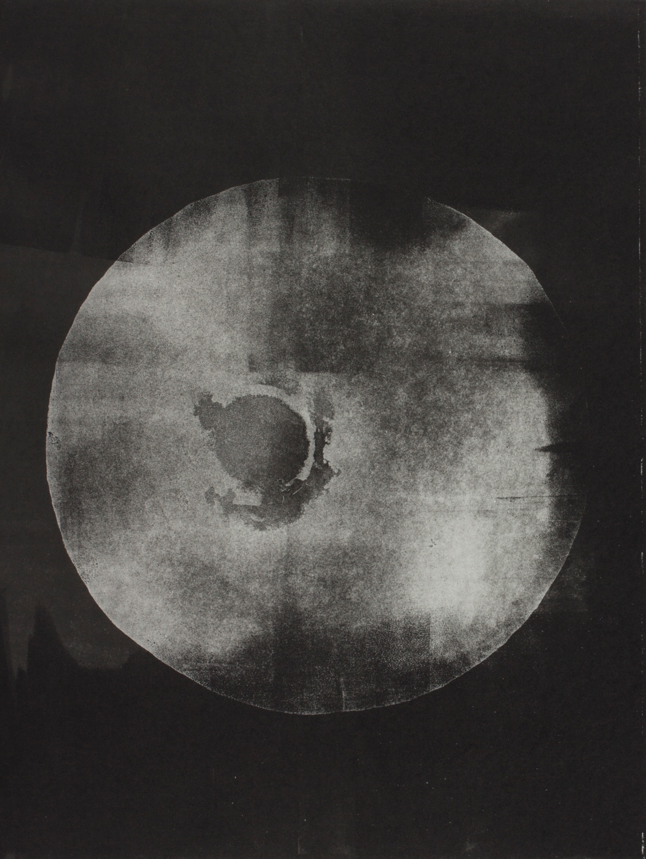 """Insomnies"" // Monotype sur gravure"