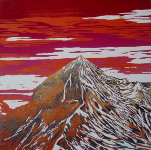 """Série """" Montagne couleur"""", 2014"""