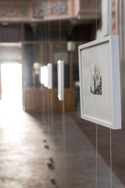 Vue de l'exposition - PAUSE - Salle Ste Catherine, Breil-sur-Roya