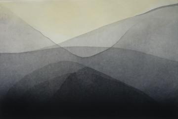 Gravure taille-douce, aquatinte - 20X30 cm